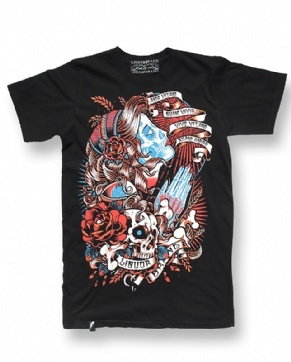 GIPSY 3, Liquorbrand Men, T-shirts at Switchblade Clothing
