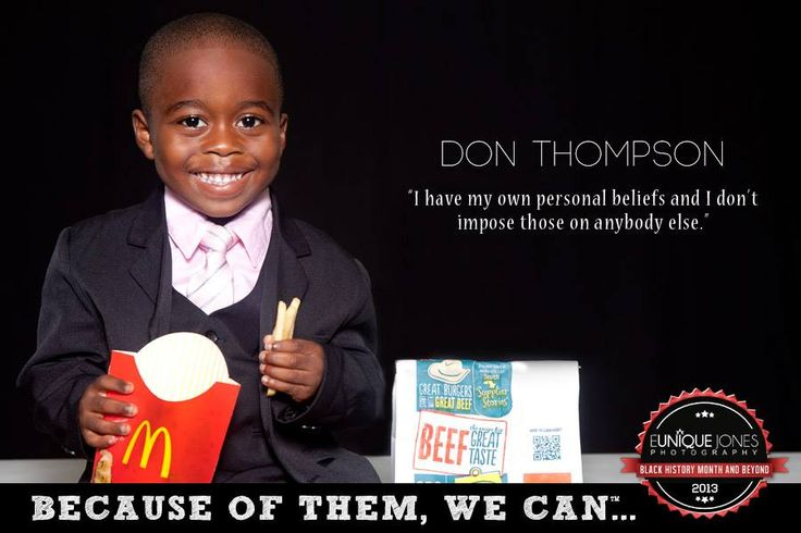 Can campaign don thompson first african american ceo of mcdonalds