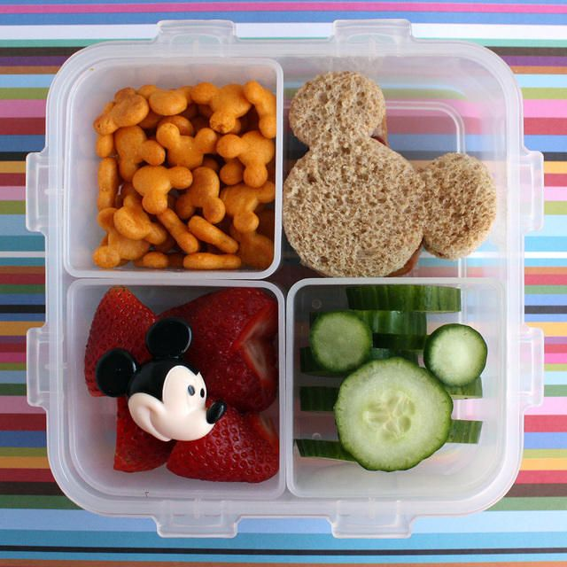 Mickey Mouse Bento | cute food ideas to try | Pinterest