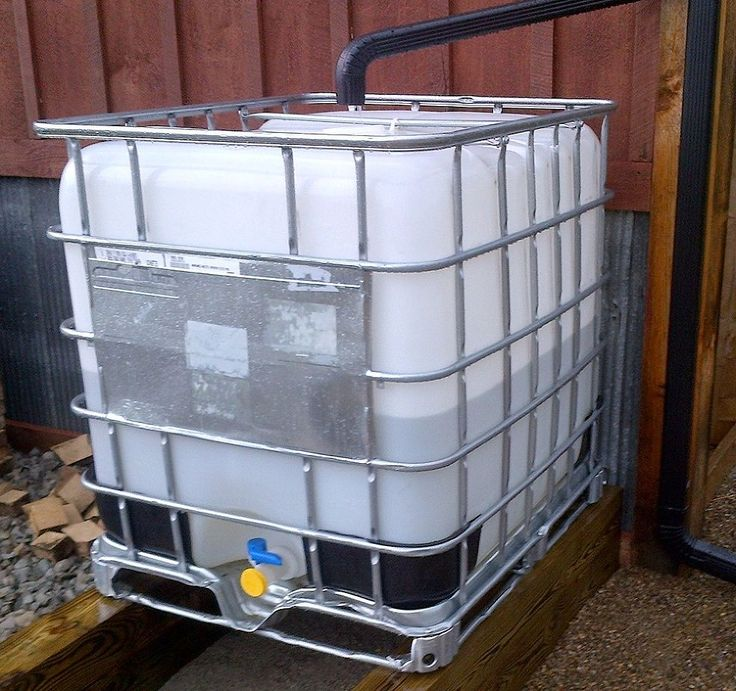 Creating a simple and inexpensive rain water collection system for How to build a rainwater collection system