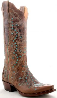 Turquoise western boots!