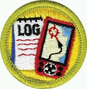 Cute geocaching patch idea