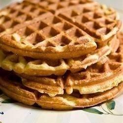 great easy waffles with lemon zest | Breakfast Recipes | Pinterest