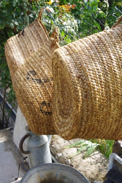 Woven Basket Pinterest : Neat old floppy baskets wicker and woven