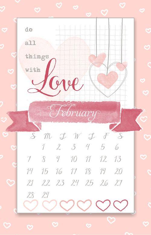 February calendar, Philippines