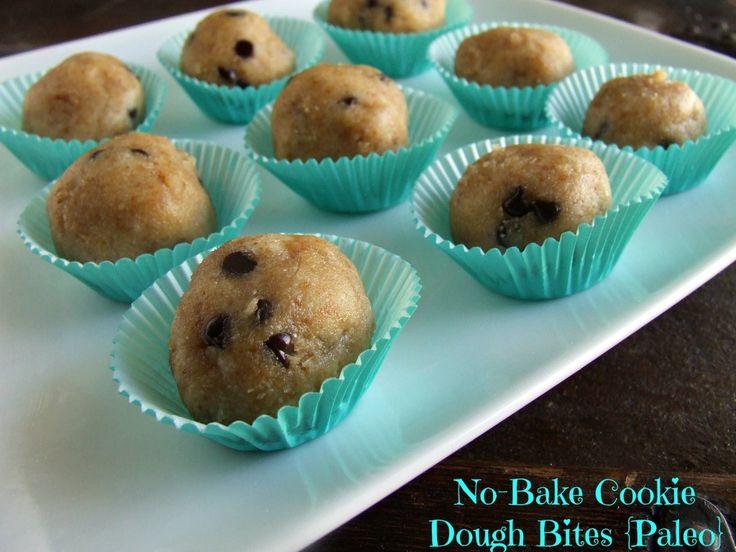 No-Bake Cookie Dough Bites {Paleo} + 25 Spring & Summer Recipes!