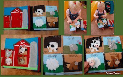 Farm Quiet Book