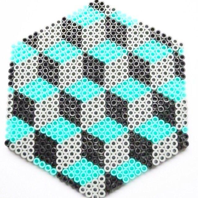 hama bead design by theyarnaddict perler bead projects