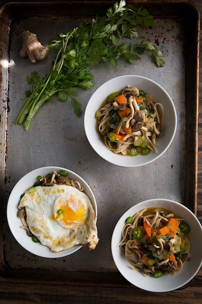 Turkey Soba Noodles | Chez Us | Blogger Recipes We Love | Pinterest