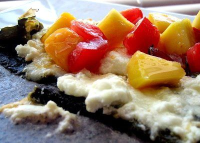 ... and really good desserts » Three Cheese Stuffed Poblanos