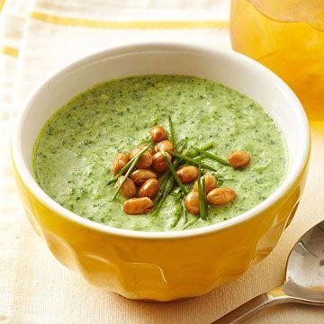 Creamy Edamame-Veggie Soup | Recipe