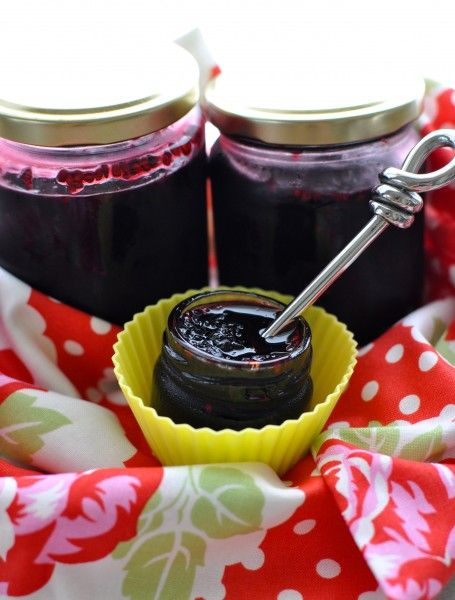 Mulberry jam | Canning | Pinterest