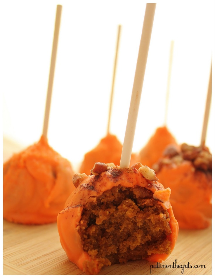 Pumpkin Spice Cake Pops | cake pops fun | Pinterest
