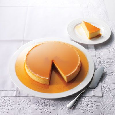 ... crème caramel will amaze your guests, but it's still an easy dessert