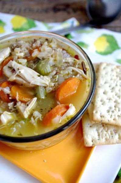 Easy Chicken & Sprouted Rice Stew (gluten free!) via Nutritionist in ...