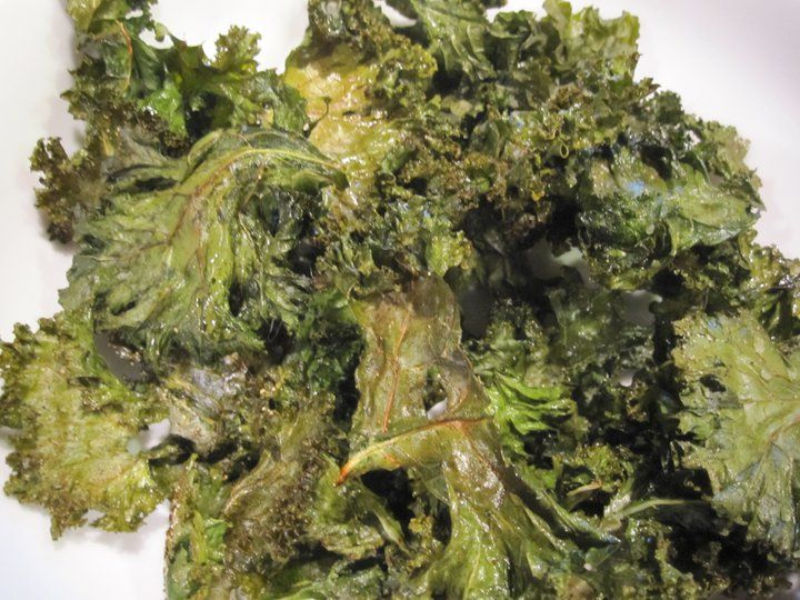 Baked Kale Chips - GFCFSF - Talk About Curing Autism (TACA)