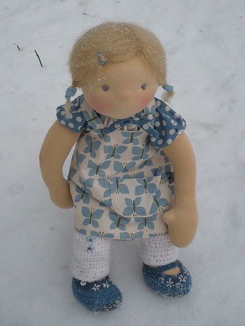 One of Fröken Skickling's beautiful handmade dolls ... LOVE her work!!!!