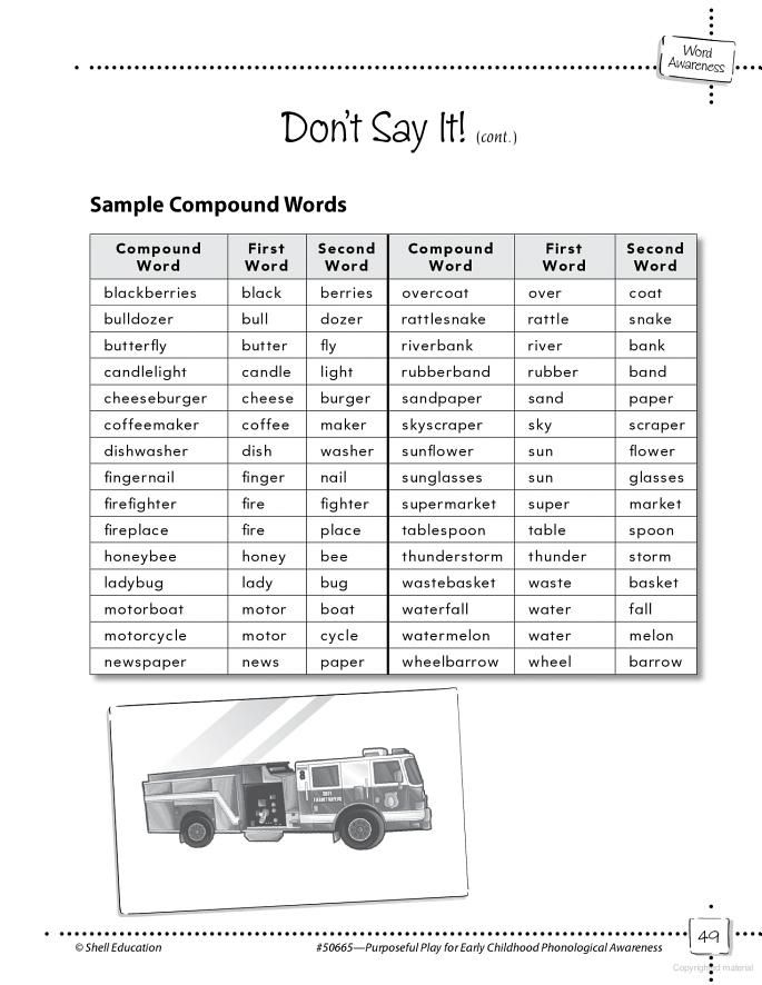 Compound Word Practice | School | Pinterest