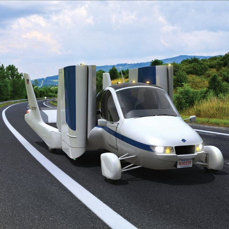 I need one!!! This vehicle converts from a street-legal automobile to a Light Sport aircraft in 30 seconds.