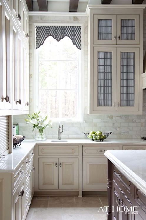 Tall kitchen cabinets architechture and design pinterest for Tall kitchen cabinets