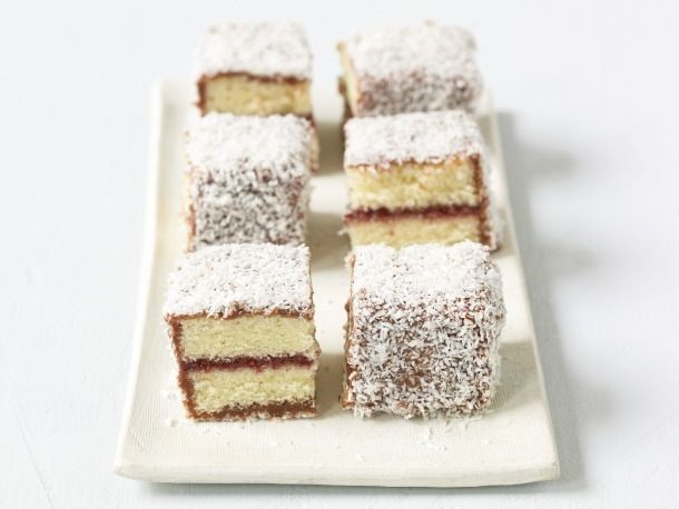 Shaun Hergatt's Lamington Bars