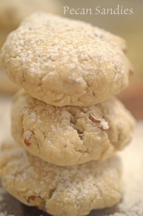 Platter Talk: Pecan Sandies | Recipes | Pinterest
