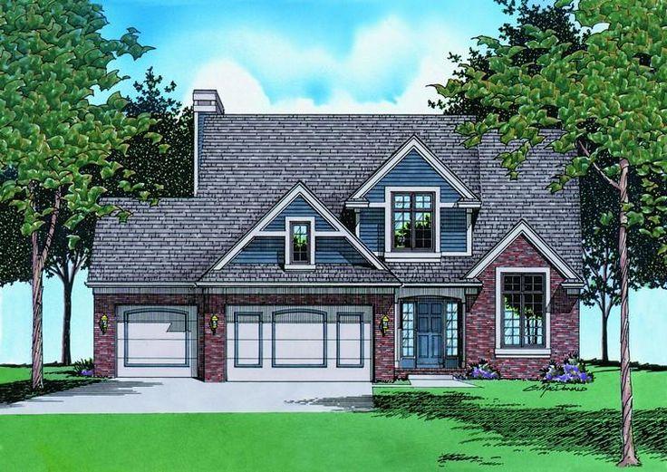 Houseplan 402 00408 House Pinterest