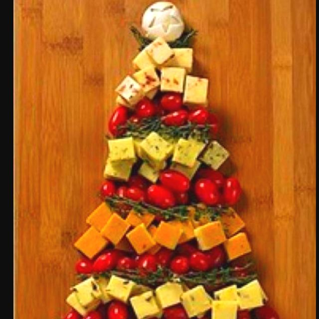 Christmas appetizer christmasappetizers - Christmas tree shaped appetizers ...