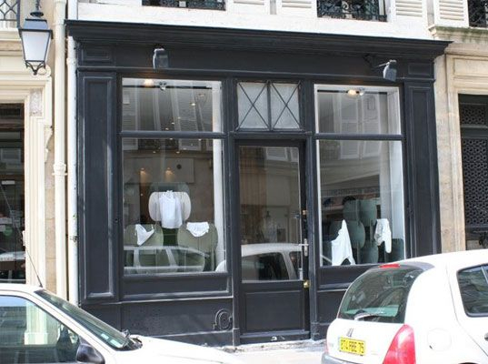 gray storefront retail and merchandising ideas pinterest