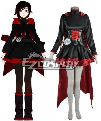 RWBY Red Ruby Rose Cosplay CostumeRwby Ruby Costume