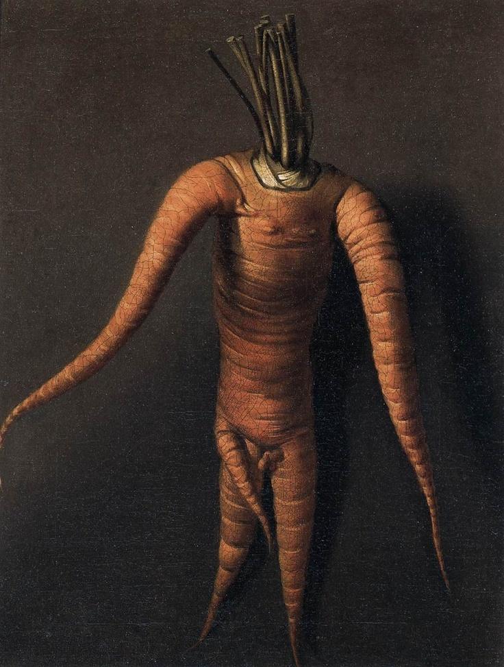 Botanical - Carrot - Art - Anthropomorphized Carrot 1699 The Carrot ...