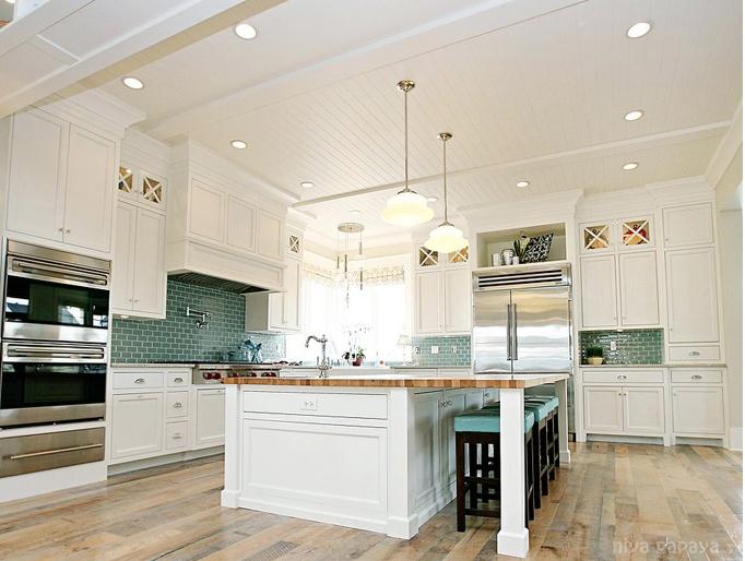 Coastal kitchen great ceiling decorating ideas pinterest for Coastal kitchen designs