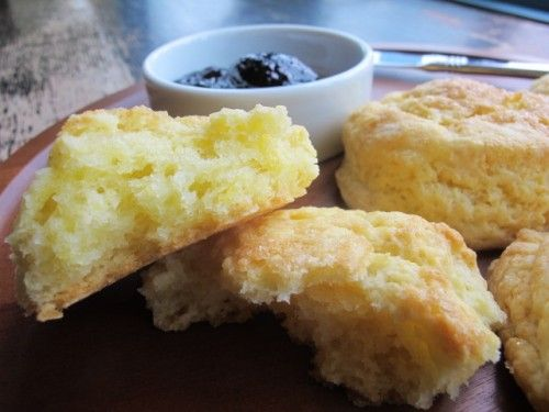 Sour Cream Biscuits--got some in the oven right now! Gotta use up the ...
