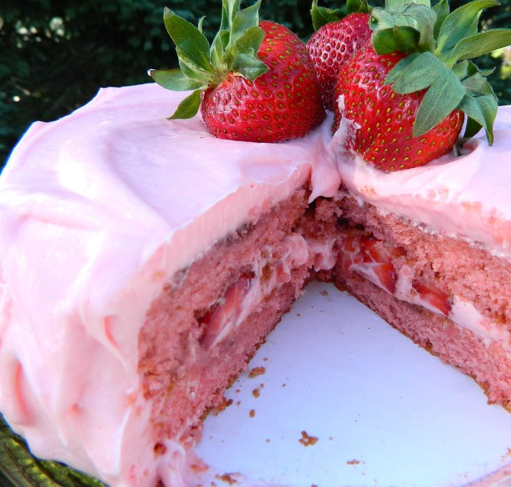 Southern Style Strawberry Cake Recipes — Dishmaps