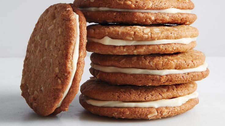 Whole-Wheat Almond-Butter Sandwich Cookies | Recipe