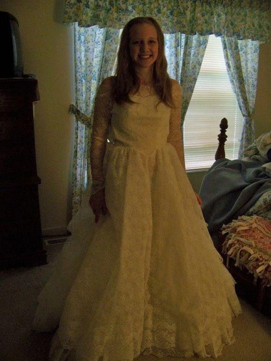 Wedding Dresses For Grandma : Grandmother s wedding dress my fairytale