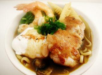udon noodle soup chicken noodle soup shrimp pasta and shrimp miso soup ...