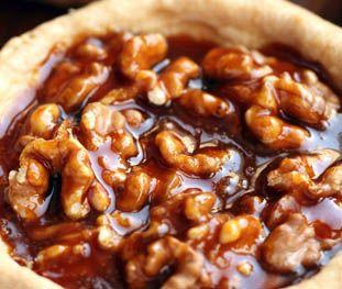 caramel walnut tart | Desserts | Sweets | Pinterest