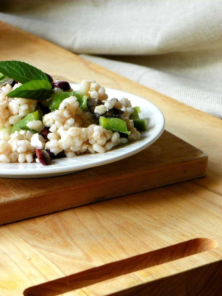 almond barley salad haricot vert salad haricots verts recipes salad ...