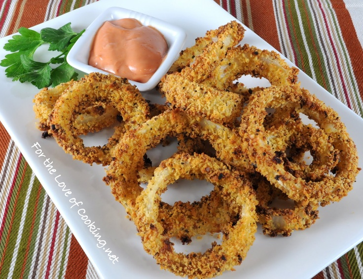 Baked Onion Rings | Quick and easy recipes | Pinterest