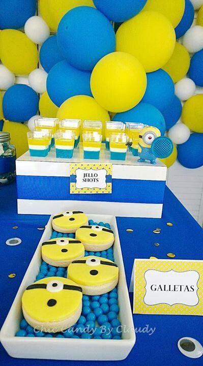 Decoracion Minions Para Fiestas Infantiles ~ Minions  Ideas para fiestas infantiles  Pinterest