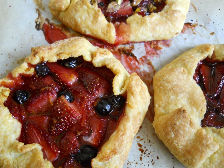 Crunch Berries aka, Strawberry Galette | For The Love of Food | Pinte ...