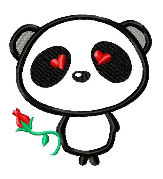 valentines day panda bears