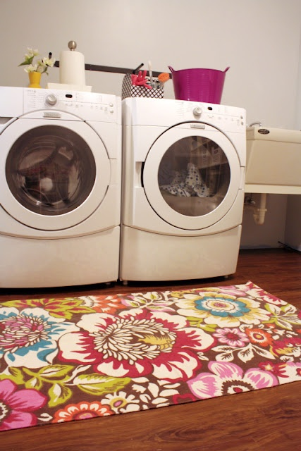 cute rug for laundry room dream our house pinterest