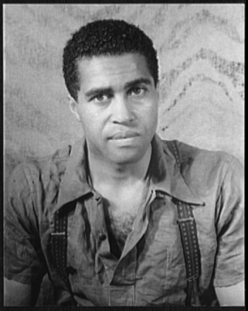Carl Van Vechten  Portrait of Earl Jones in Langston Hughes s  quot Don t    Langston Hughes As A Child