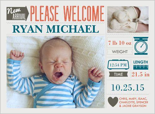 赤ちゃん 誕生 カード 英語