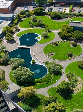 Kaiser Center Oakland Roof Garden Open To The Public M F