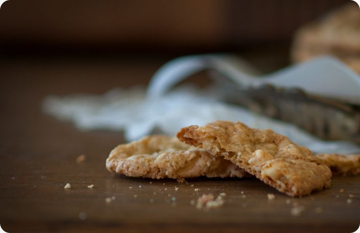 Salted White Chocolate Oatmeal Cookies | Cookies | Pinterest