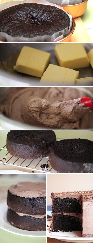 Moist+Double+Layer+Chocolate+Cake chocolates