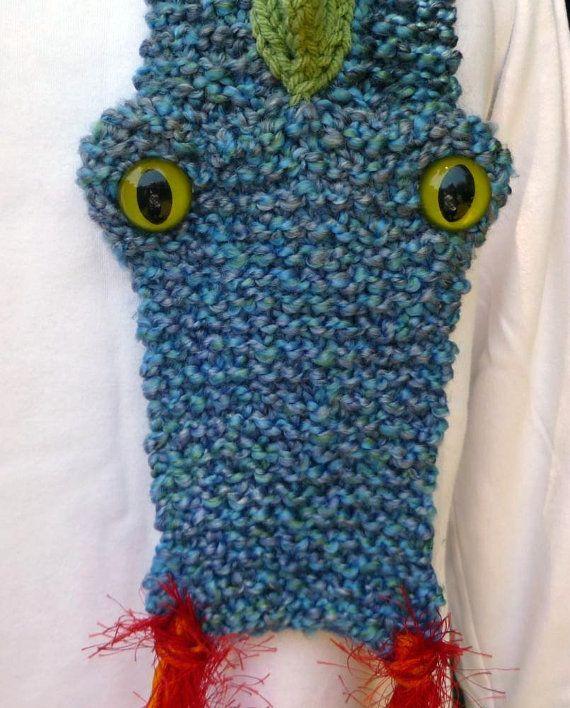 Knitting Pattern For Dragon Scarf : Dragon scarf Crochet Pinterest